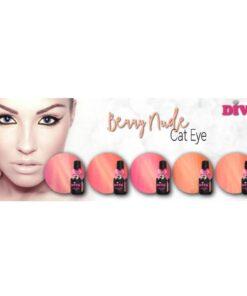 Diva Gellak Cat Eye Berry Nude Collection