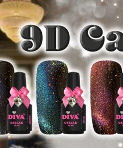Diva 9D Cat Eye serie 1