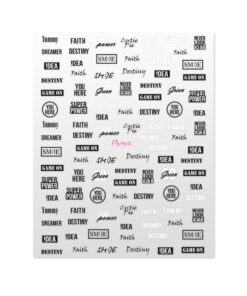 Moyra Matrica Stickers