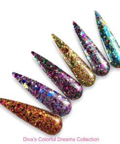 Diva Pigmenten en Glitters