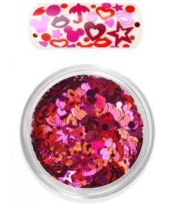 Moyra Rainbow Love Flitter Mix